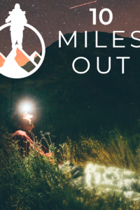 Promotional poster for 10 Miles Out