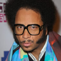 Headshot of filmmaker Boots Riley