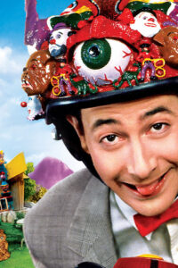 Image of actor Paul Rubens in the role of Pee-wee Herman from Pee-wee's Playhouse